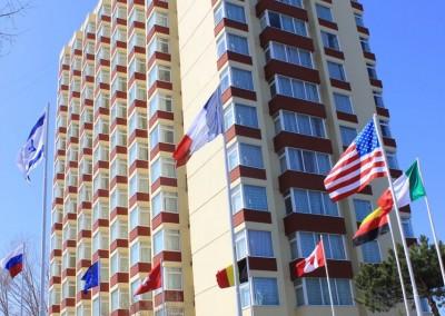 lucrari cu alpinisti utilitari in Constanta la Hotel Delfinul - Complex Steaua de Mare 1