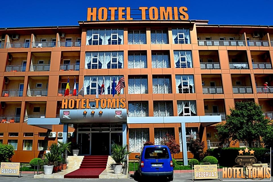 Hotel Tomis Mamaia – lucrari de intretinere cu alpinisti utilitari in Constanta