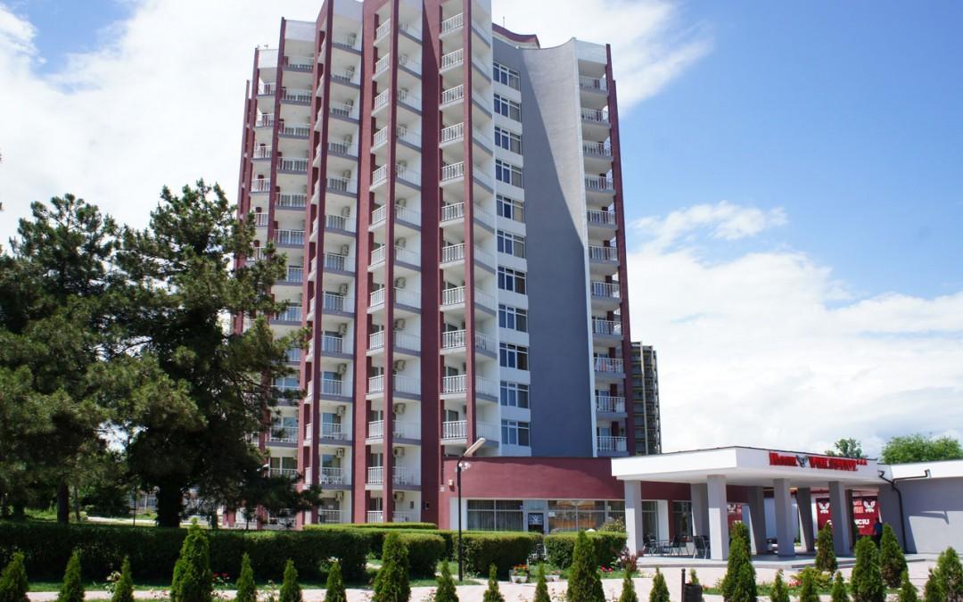 Hotel Vulturul, Venus – lucrari de intretinere si reparatii exterioare cu alpinisti utilitari in Constanta