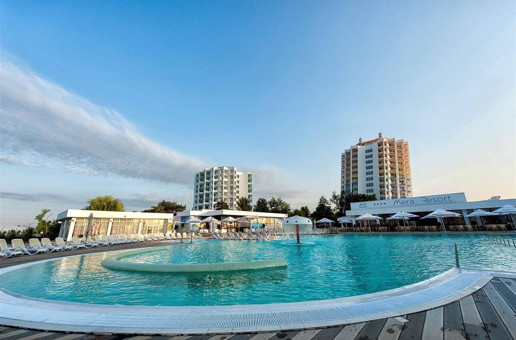 Mera Resort – Mera Sky Hotel – fostul hotel Cocorul, Venus – reparatii cu alpinisti utilitari in Constanta