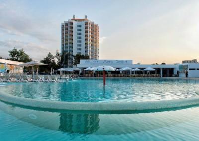 lucrari cu alpinisti utilitari in Constanta la Complex Mera Resort Venus 4