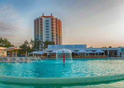 lucrari cu alpinisti utilitari in Constanta la Complex Mera Resort Venus 5