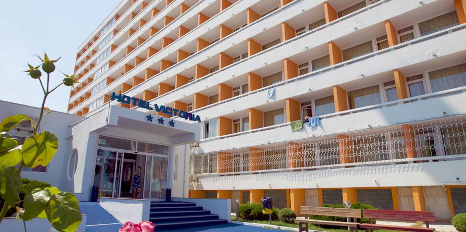 Hotel Victoria, Mamaia – reparatii cu alpinisti utilitari in Constanta