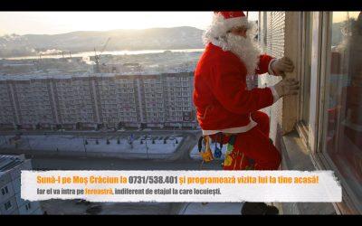 Vrei ca Moș Crăciun să ajungă în seara de Ajun la cei mici prin fereastra locuinței tale?